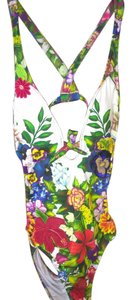 Agua Bendita New Agua Bendita colorful one piece swimsuit