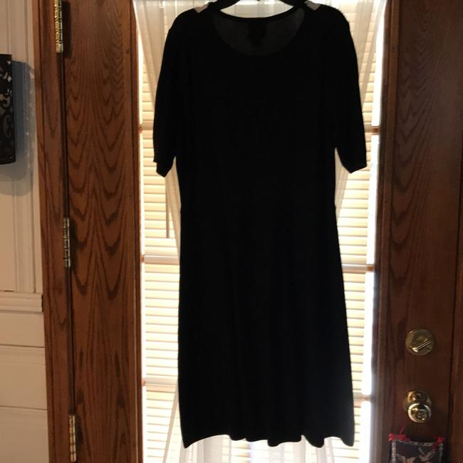CeCe's New York Sweater with Bow Detail Mid-length Short Casual Dress Size 12 (L) CeCe's New York Sweater with Bow Detail Mid-length Short Casual Dress Size 12 (L) Image 2