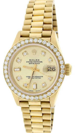 Preload https://img-static.tradesy.com/item/21606639/rolex-president-datejust-ladies-gold-26mm-wdiamond-dial-and-bezel-watch-0-1-540-540.jpg