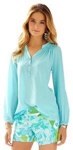 Lilly Pulitzer Top Shorely Blue