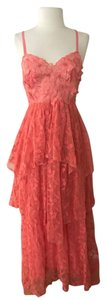 Coral Red Maxi Dress by Free People