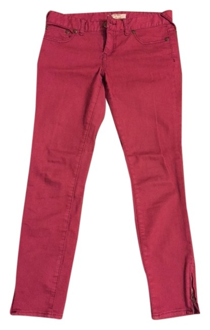 Item - Pink/Magenta Medium Wash Skinny Jeans Size 27 (4, S)