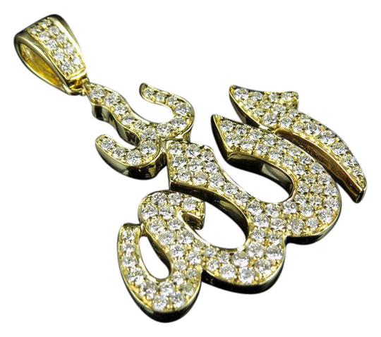Preload https://img-static.tradesy.com/item/21606867/14k-yellow-gold-unisex-islamic-arabic-allah-diamond-pendant-150ct-15-charm-0-2-540-540.jpg
