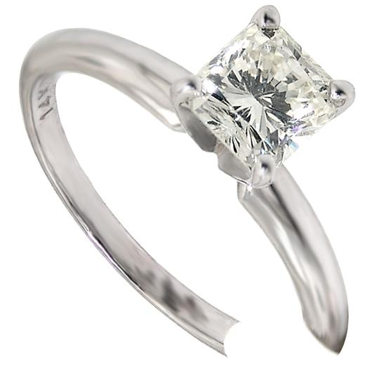 Preload https://img-static.tradesy.com/item/21607056/abc-jewelry-i-color-si-1-clarity-diamond-cushion-cut-solitaire-96tcw-14k-whi-engagement-ring-0-0-540-540.jpg