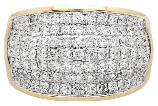 Preload https://img-static.tradesy.com/item/21607087/14k-yellow-gold-mens-large-wave-paved-iced-real-vs-diamond-pinky-band-30ct-ring-0-2-540-540.jpg