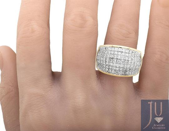Other Mens Large Wave Paved Iced Real VS Diamond Pinky Band Ring 3.0ct