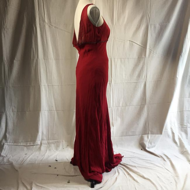 Red Maxi Dress by Ben de Lisi
