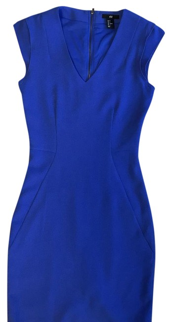 Preload https://img-static.tradesy.com/item/21607249/h-and-m-blue-classic-mid-length-cocktail-dress-size-2-xs-0-4-650-650.jpg
