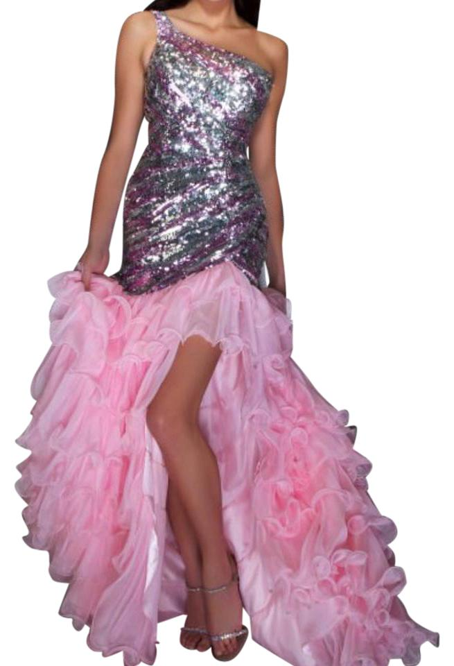 Mac Duggal Couture Baby Pink Macy Gown Long Formal Dress Size 10 (M ...