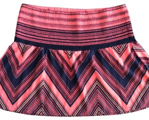 Express Mini Skirt Navy, Coral, Red