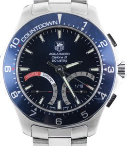 TAG Heuer Aquaracer Calibre S Regatta Chronograph Stainless Steel Watch