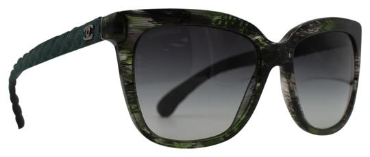 Preload https://img-static.tradesy.com/item/21607704/chanel-transparent-green-square-quilted-denim-5343-1553s6-sunglasses-0-1-540-540.jpg