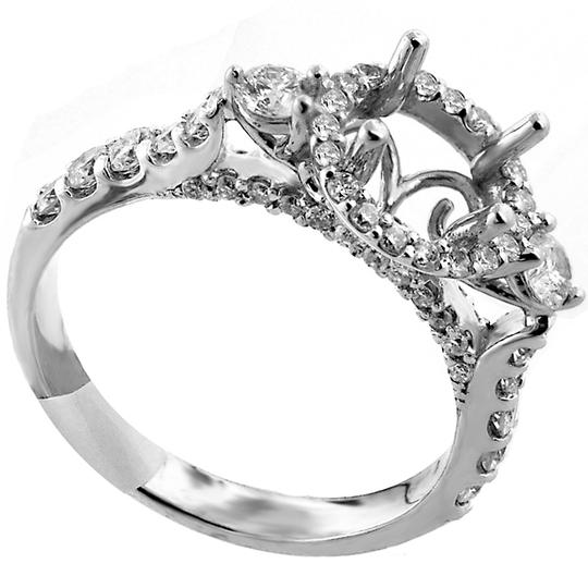 Preload https://img-static.tradesy.com/item/21607735/abc-jewelry-i-color-si1-clarity-halo-white-gold-semi-mount-engagement-ring-0-0-540-540.jpg