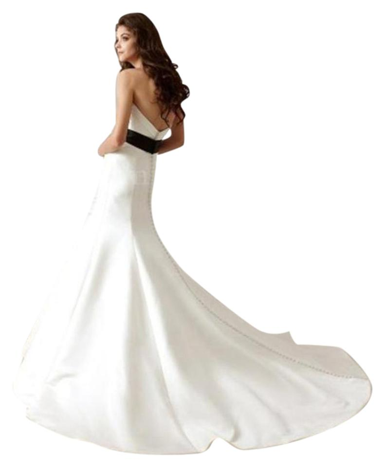 Jasmine Couture Bridal Ivory Satin F470 Formal Wedding