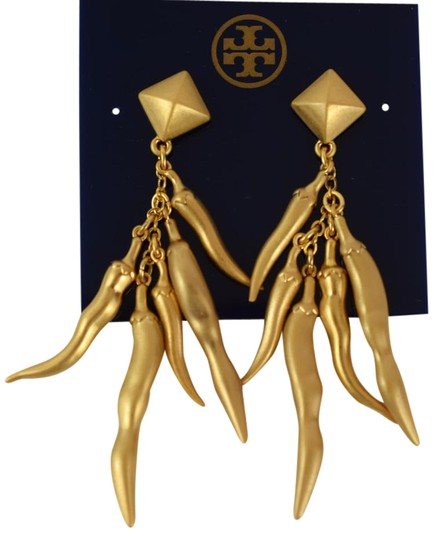 Preload https://img-static.tradesy.com/item/21607922/tory-burch-gold-sylvan-chilli-pepper-earrings-0-1-540-540.jpg