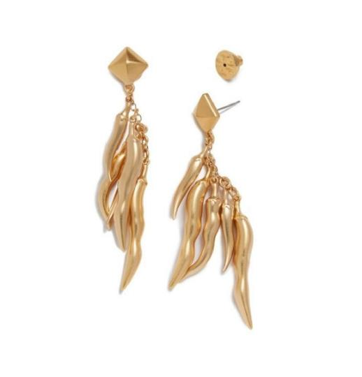 Tory Burch Tory Burch Sylvan Chilli Pepper Earrings