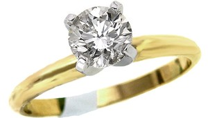 ABC Jewelry Color: K Clarity: Si1 .51ct. Round Brilliant Cut Diamond Solitaire Engagement Ring