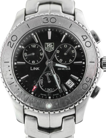 Preload https://img-static.tradesy.com/item/21608088/tag-heuer-stainless-steel-black-dial-link-chronograph-watch-0-1-540-540.jpg
