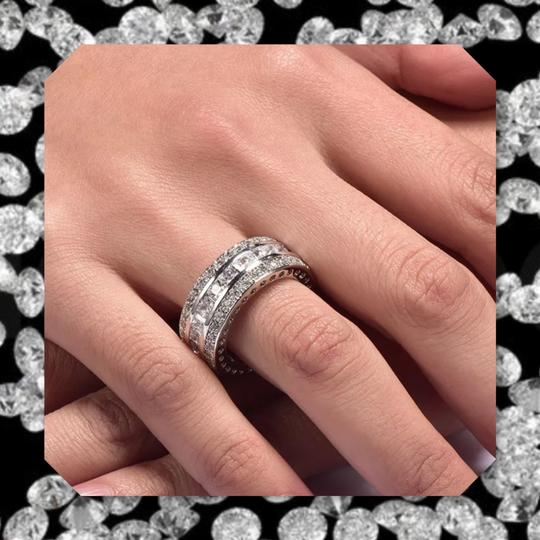 Other New White Gold Filled Eternity Band