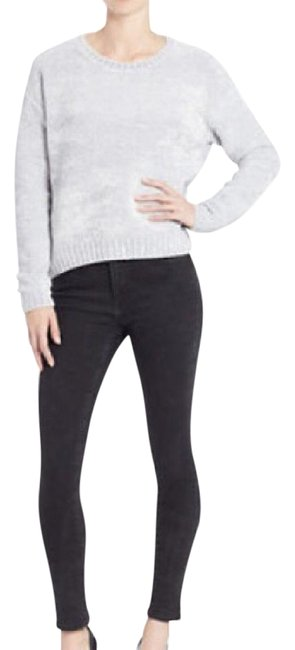 Preload https://img-static.tradesy.com/item/21608423/lord-and-taylor-chenille-boxy-crewneck-oyster-gray-sweater-0-1-650-650.jpg