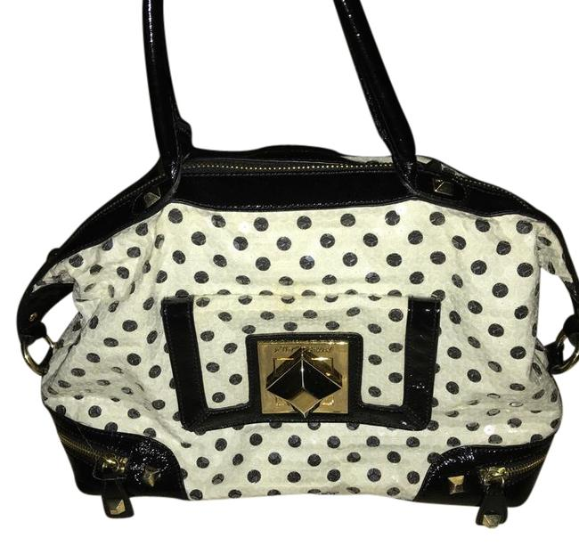 Item - Black and White Satchel