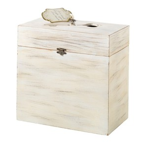 Wedding Wooden Key Card Gift Box For Receiving Wedding Gift Wishes