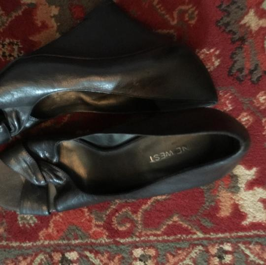 Nine West Black Slide Wedges New black Flats