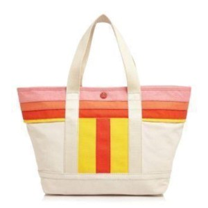 Tory Burch Beach Tote Small Tote Canvas Totes Satchel in White