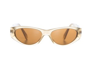 Persol Persol Tan Frosted Sunglasses