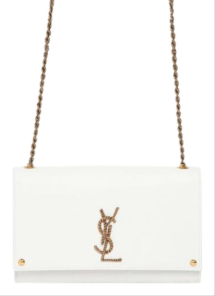 824ac1081b Saint Laurent Monogram Ysl Nautical Chain Flap Shoulder Bag Image 0 ...