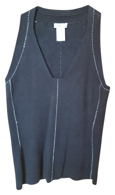 Cache Top Black with white