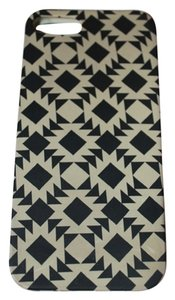 J.Crew J.Crew Black&White Boho Print iPhone 5 Phone Case
