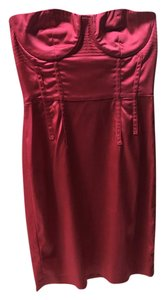 Vera Wang Bodycon Corset Fitted Dress