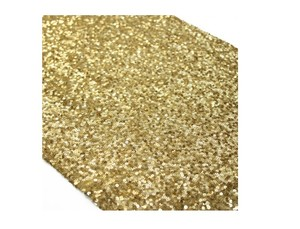 Gold Sequin Table Runner 13 By 108 Inch Elegant Wedding Table Decor