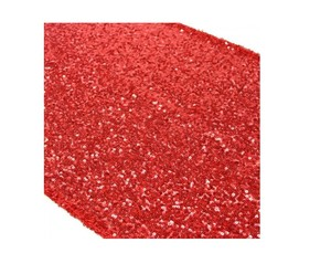 Gold Red Sequin Table Runner 13 By 108 Inch Elegant Table Decor Tablecloth
