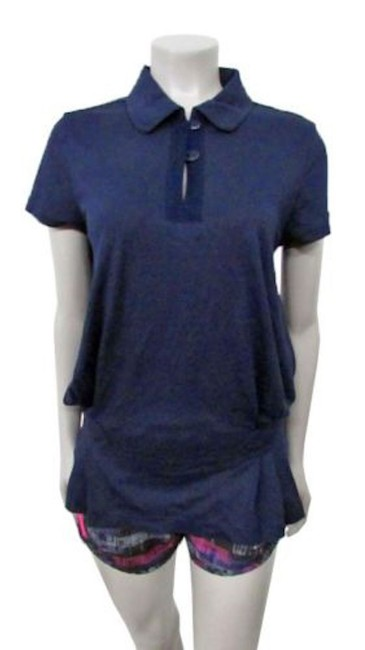 Item - Navy Polo Activewear Top Size 6 (S, 28)