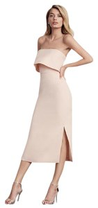C/meo Collective Bloomingdales Strapless Exclusive Ruffle Dress