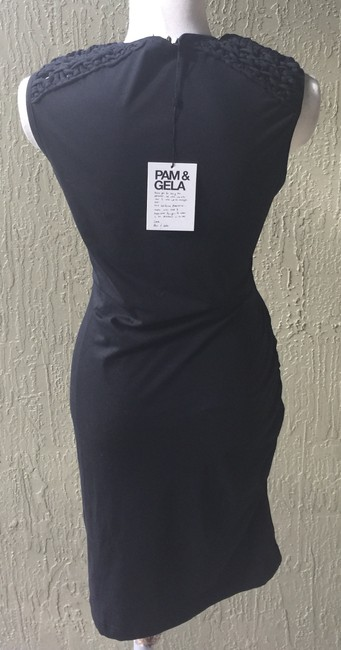 PAM & GELA short dress Black Lbd Fitted on Tradesy