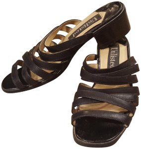 Unlisted Leather black Sandals