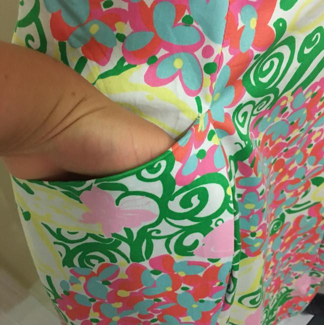 Lilly Pulitzer short dress yellow, green, pink and white on Tradesy