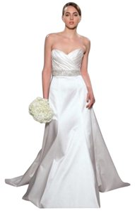 Romona Keveza Ivory Legends Feminine Wedding Dress Size 2 (XS)