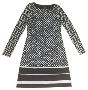 INC International Concepts Petite Long Sleeve Dress