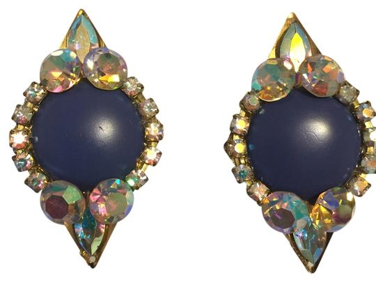 Preload https://item5.tradesy.com/images/other-blue-jeweled-elegant-eighties-vintage-clip-on-earrings-roxanne-anjou-closet-2161109-0-0.jpg?width=440&height=440