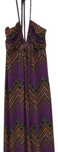 lavender and multi Maxi Dress by T-Bags Los Angeles