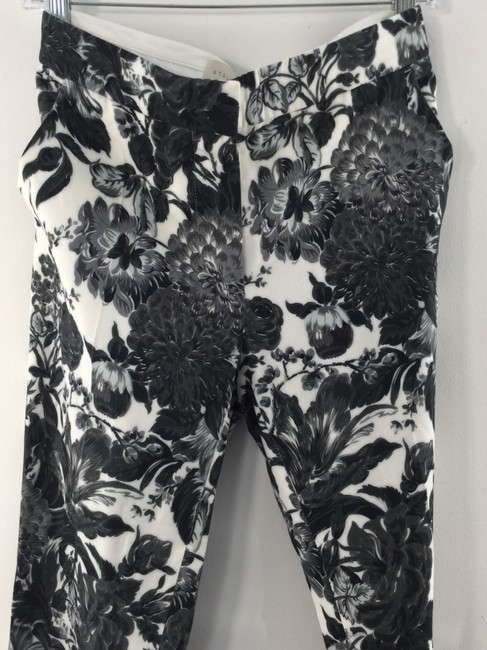 Stella McCartney Flare Pants Black Floral