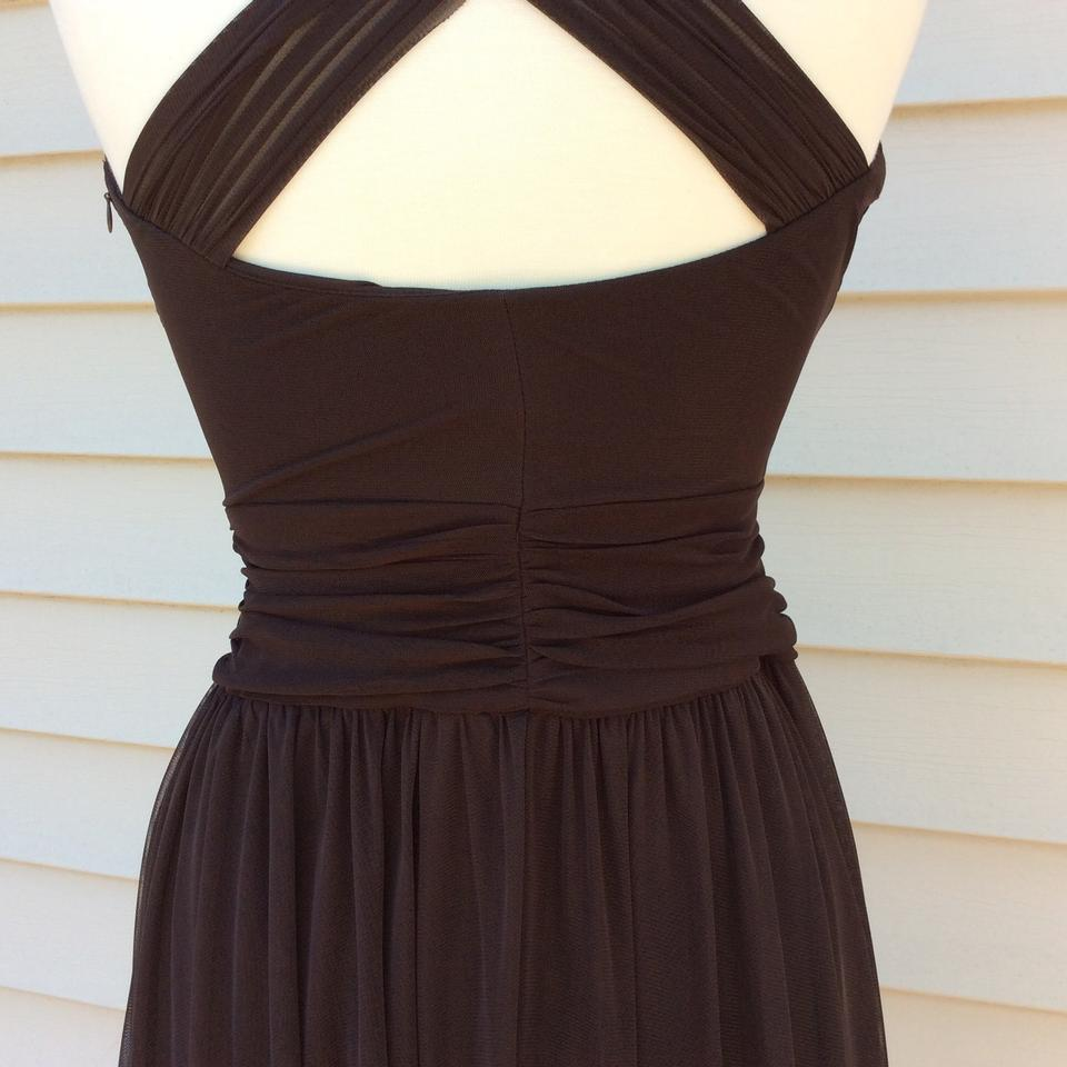 London times brown 00 mid length cocktail dress size 6 s tradesy 123456789101112 ombrellifo Choice Image