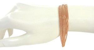 Fossil Fossil JOA00320791 9 Twist Strands Rose Gold Tone Chain Bracelet