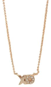 Fossil Fossil JOA00328791 XO Charms Crystals Rose Gold Tone Chain Necklace