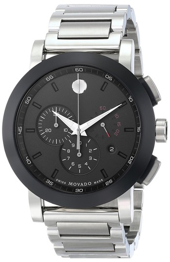 Preload https://img-static.tradesy.com/item/21612774/movado-museum-chronograph-grey-dial-stainless-steel-mens-0606792-watch-0-0-540-540.jpg