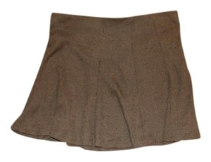 Bershka Mini Skirt navy green